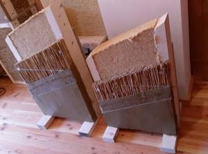 панел от тръстика и дървесна вата
